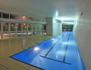 Lap Pool at Night